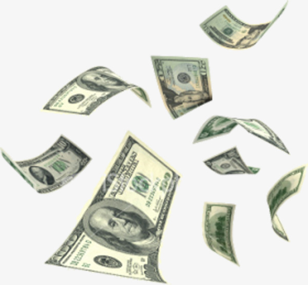 Falling dollar, Product Kind, From Far To Near, Falling Money Free PNG Image - Raining Money PNG HD