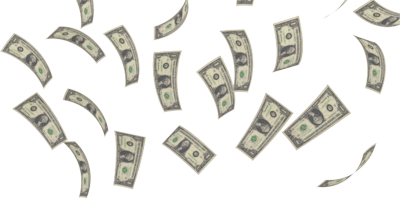 Raining Money PNG HD - 127097