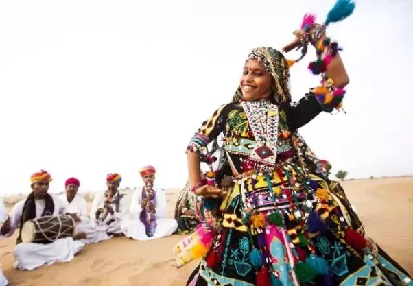 Rajasthani Dance PNG - 65078