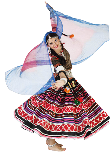 This folk dance is performed by the Kamada tribes who are traditional snake  charmers. - Rajasthani Dance PNG