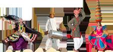 Rajasthani Dance PNG - 65066
