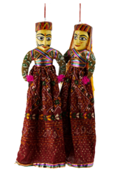 Rajasthani Puppets PNG