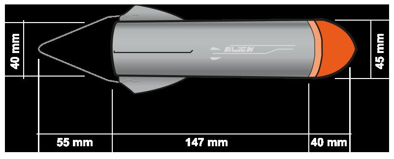Alien - Raketa PNG