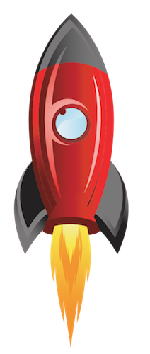 NASTARTUJTE SVŮJ WEB - Raketa PNG