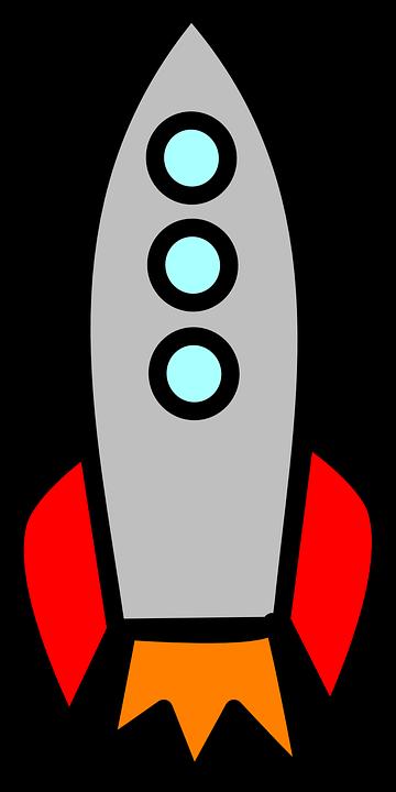 Raketa, Start, Prostor, Cestovní, Požár, Fly - Raketa PNG