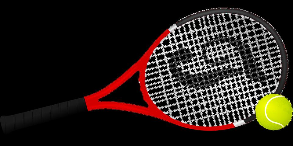 Tenisová Raketa, Tenis, Tenisový Míč, Koule, Raketa - Raketa PNG