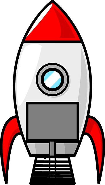 Vektorová grafika zdarma: Raketa, Kosmická Loď, Kosmické Lety - Obraz  zdarma na Pixabay - 297573 - Raketa PNG