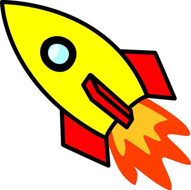 Vektorová grafika zdarma: Raketa, Kosmická Loď, Kosmické Lety - Obraz  zdarma na Pixabay - 297605 - Raketa PNG