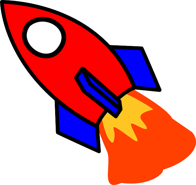 Vektorová grafika zdarma: Raketa, Start, Požár, Kreslený Film - Obraz  zdarma na Pixabay - 310663 - Raketa PNG
