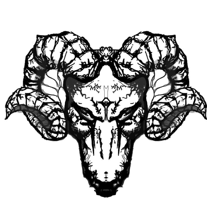 Battle Ram Head by Jay0hc PlusPng.com  - Ram Head PNG
