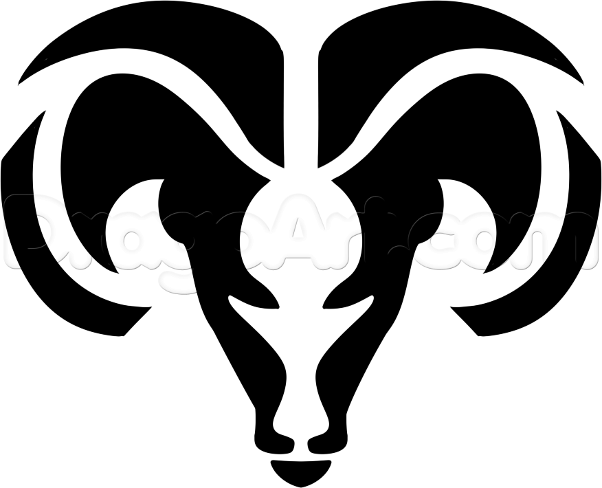 pin Drawn animal ram #5 - Ram Head PNG