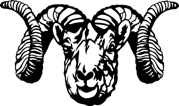 PNG: small · medium · large - Ram Head PNG