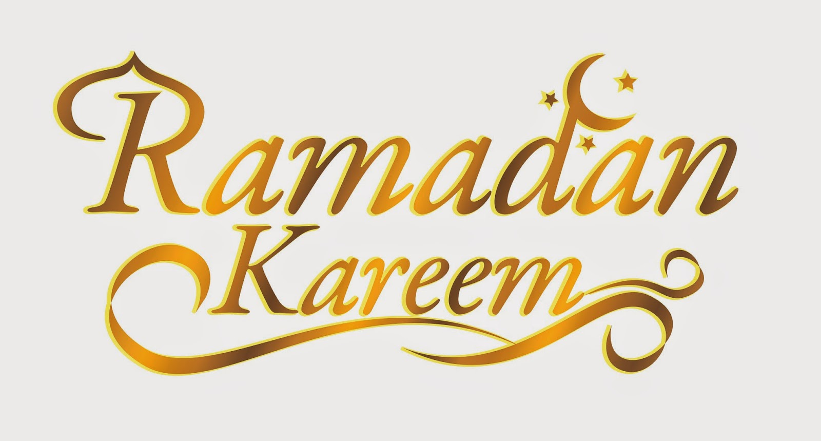 Free Clip Arts: Golden Ramadan Kareen Vector Clipart - Ramadan HD PNG