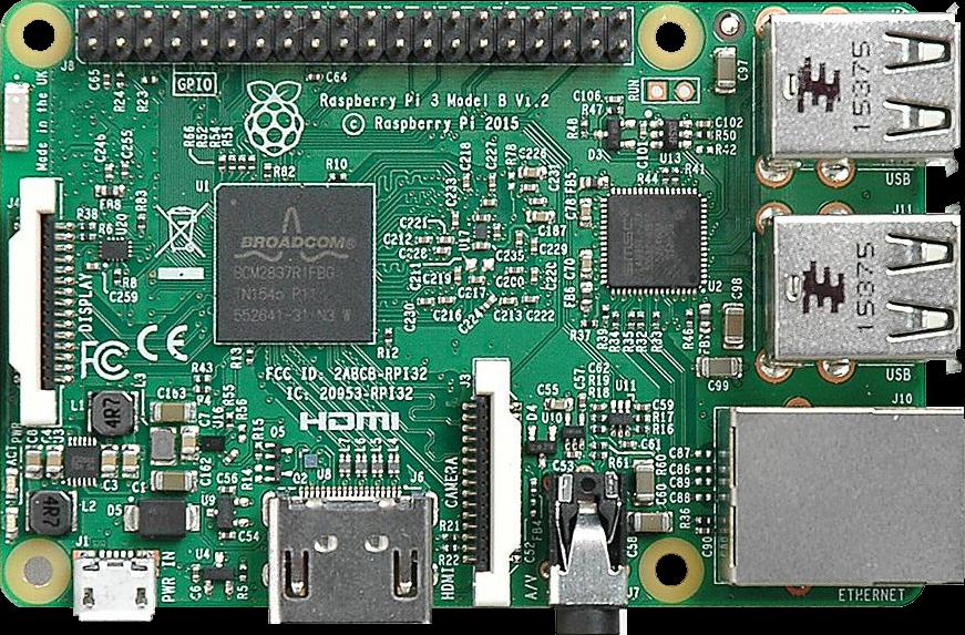 File:Raspberry Pi 3 Model B.png - Raspberry Pi PNG