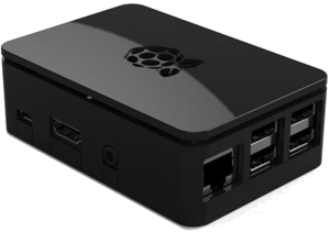 Premium Black Case - Raspberry Pi PNG