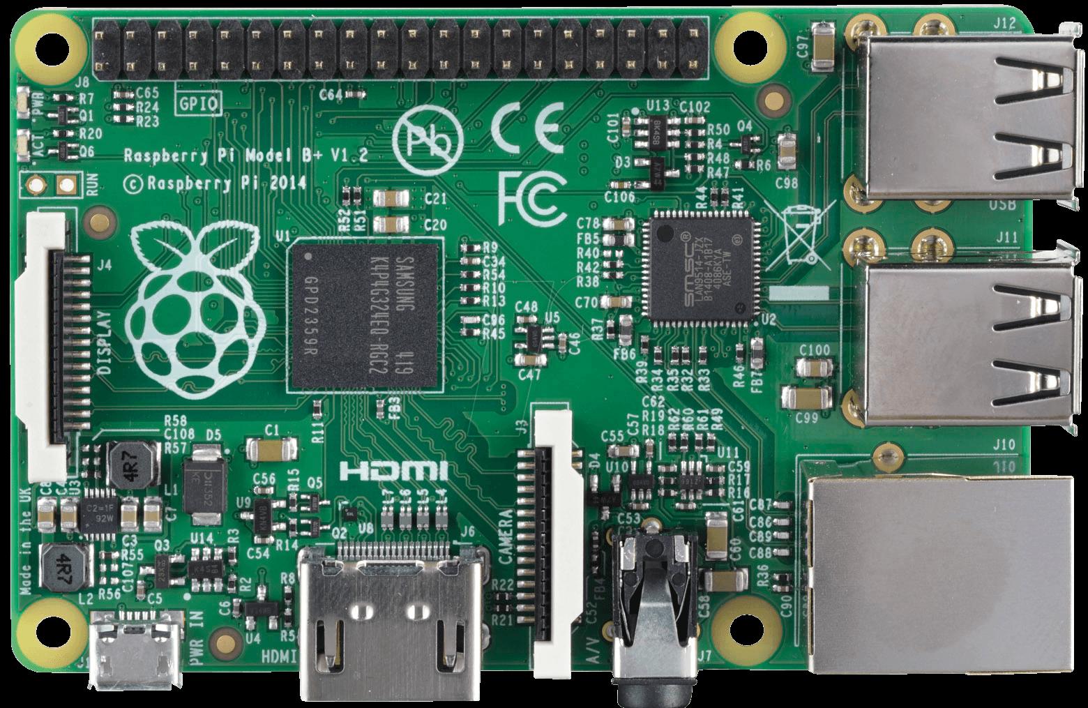Raspberry Pi B , 4x USB 2.0, 40-pin GPIO RASPBERRY PI RASPBERRY PI - Raspberry Pi PNG