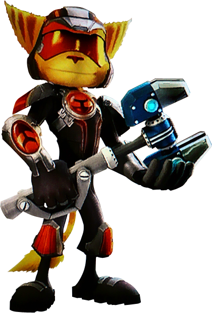 14:29, January 31, 2010 PlusPng.com  - Ratchet Clank HD PNG