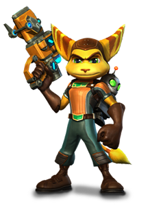 File:Render ratchet clank.png - Ratchet Clank HD PNG