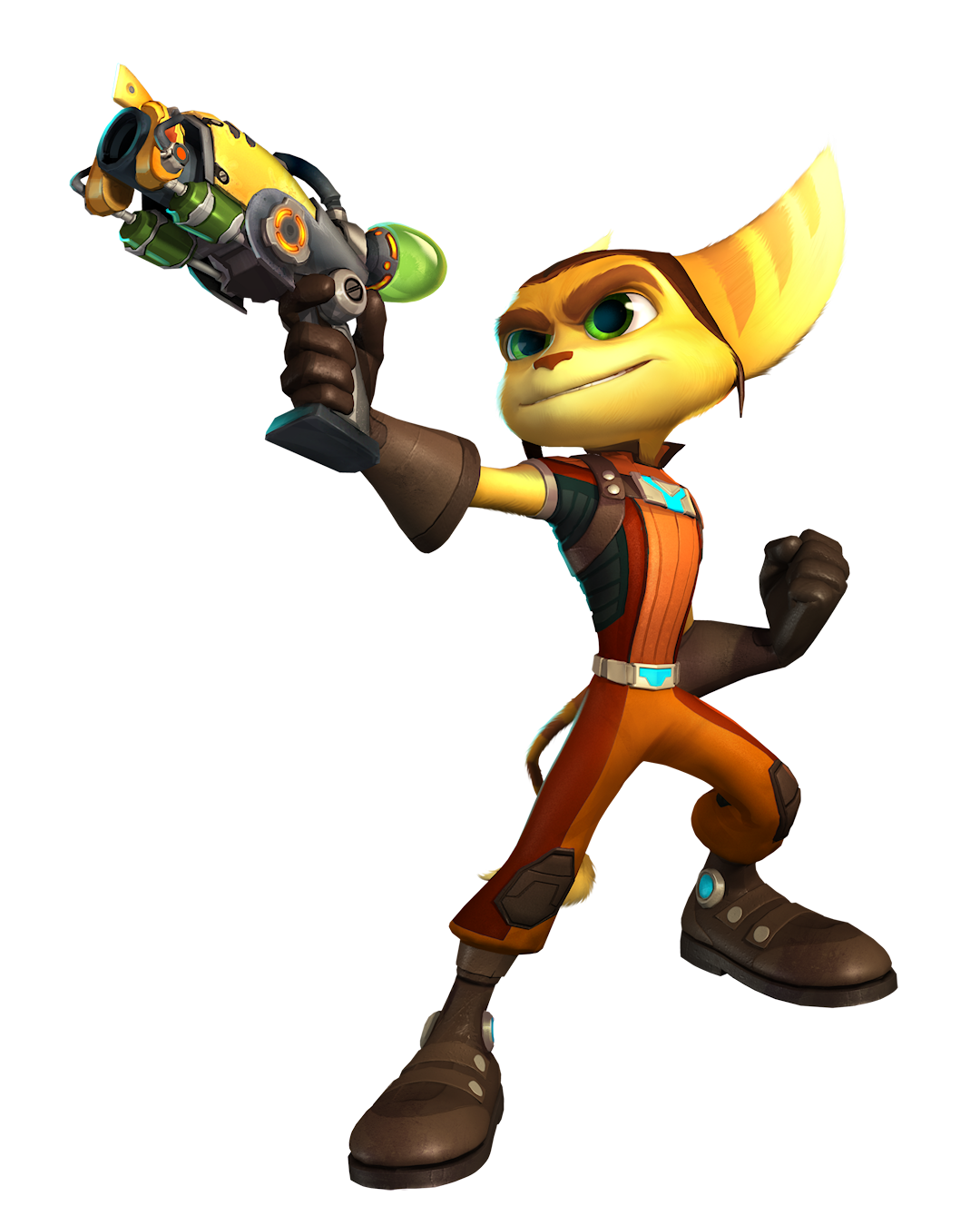 Heroic Ratchet.png - Ratchet Clank HD PNG