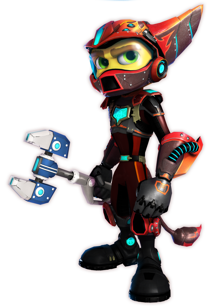 Pyronox Armor.png - Ratchet Clank HD PNG