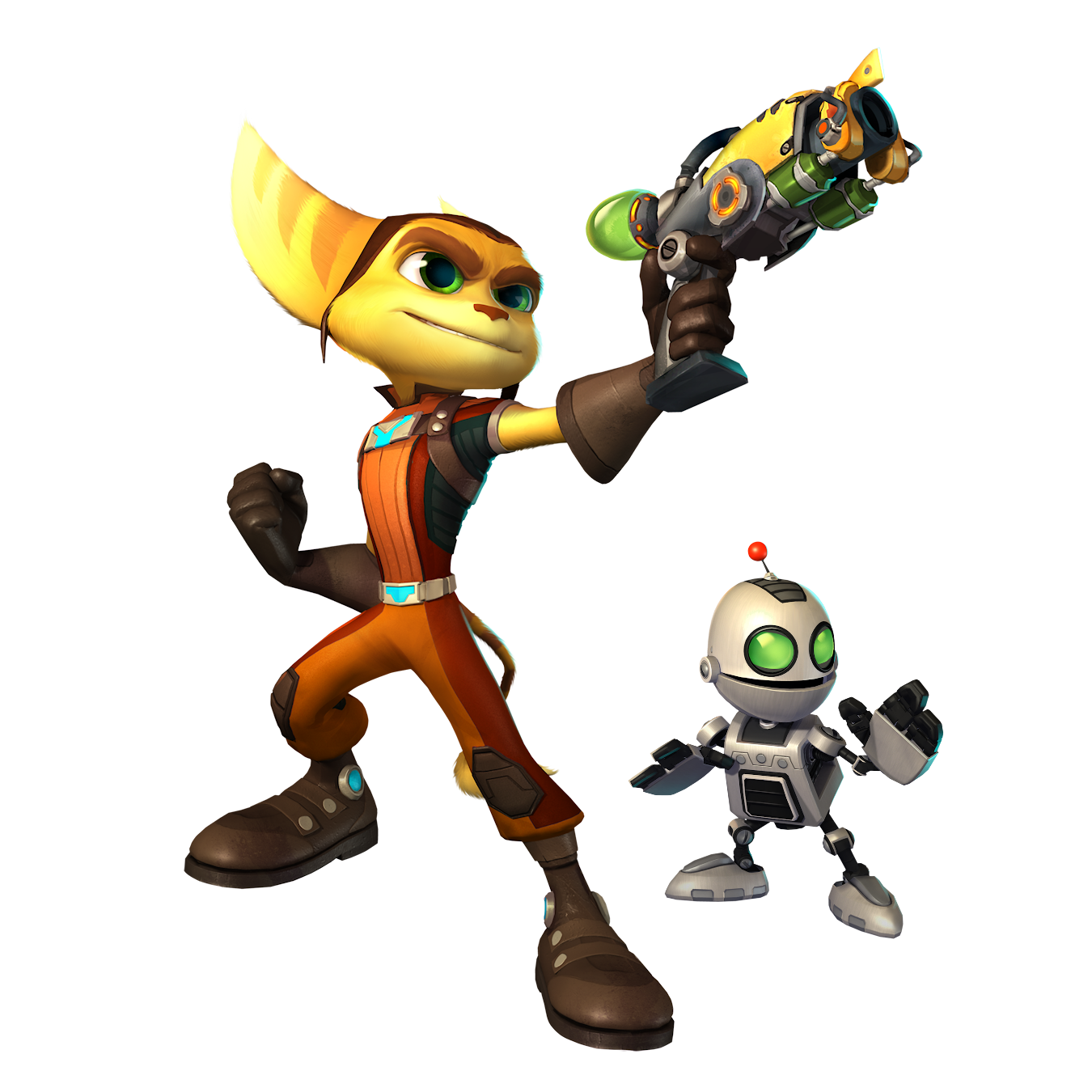 Ratchet Clank HD PNG