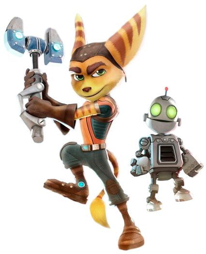 Ratchet and Clank - Transparent Background! by Camo-Flauge PlusPng.com  - Ratchet Clank HD PNG