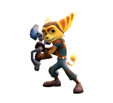 ratchet-and-clank-two-column-characters-ratchet-01- - Ratchet Clank HD PNG