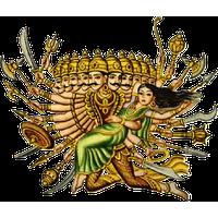 Similar Ravana PNG Image - Ravan PNG