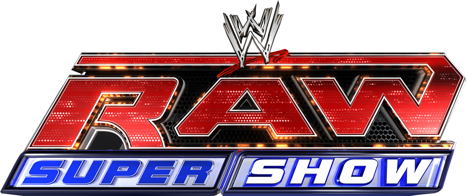 Raw Supershow.png - Raw PNG