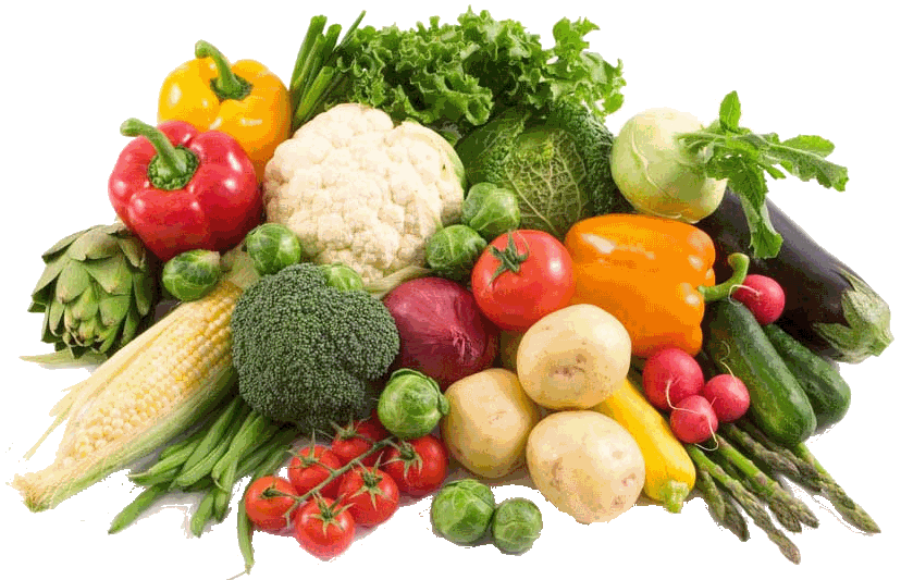 Raw Vegetables PNG