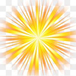 yellow rays, Yellow, Light, Rays PNG Image and Clipart - Ray PNG
