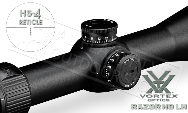 Vortex Razor HD LH 2-10x40mm SFP Scope with HS-4 Reticle #RZR PlusPng.com  - Razor HD PNG