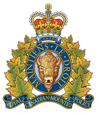 RCMP LOGO - ROYAL CANADIAN MO