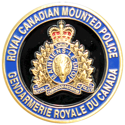 RCMP Challenge Coins - Rcmp PNG
