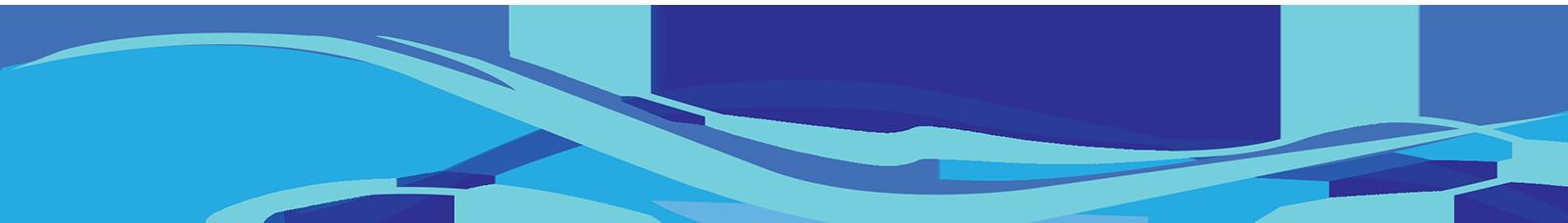 Decorative Line Blue PNG - 1106