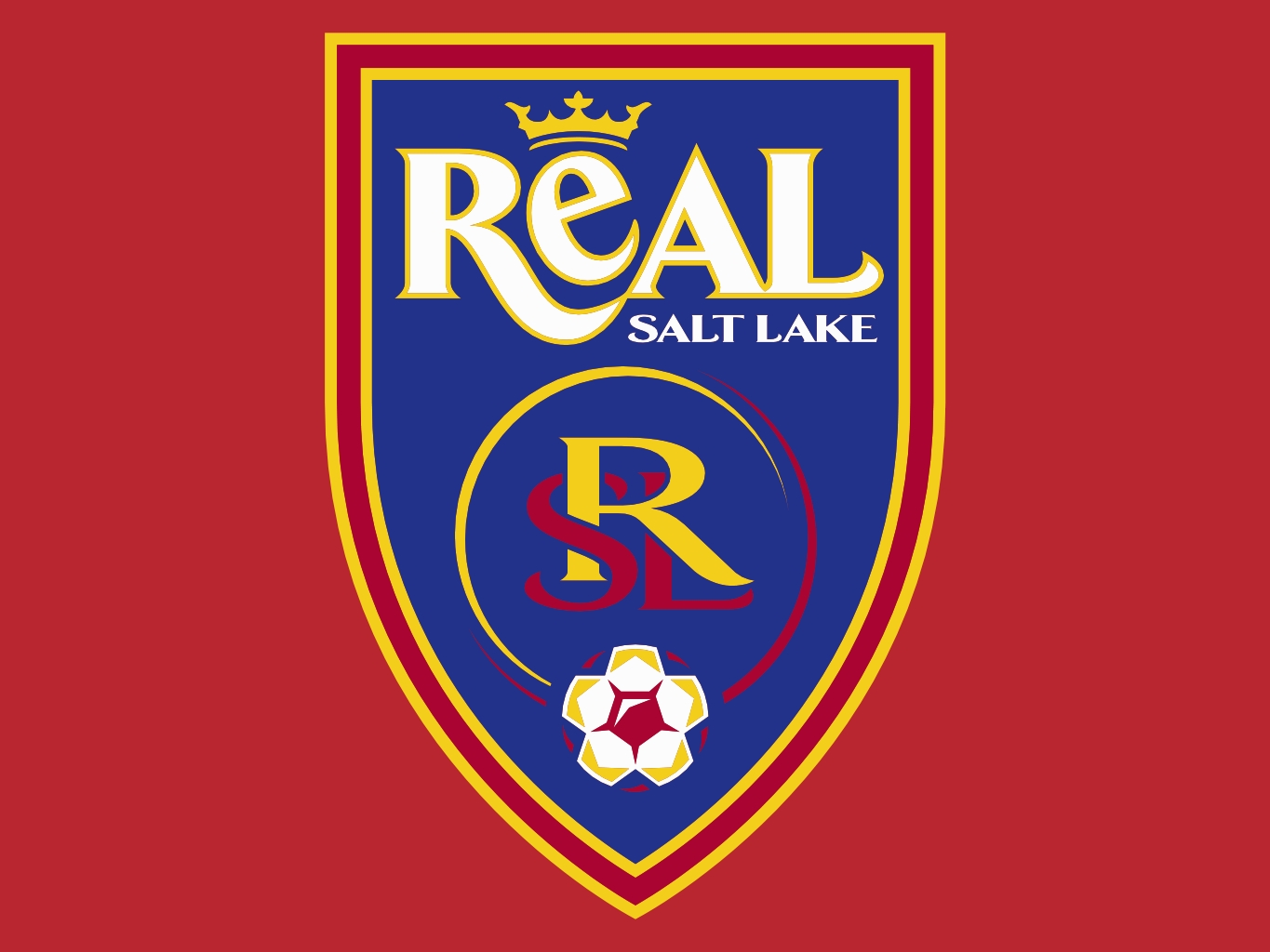 . PlusPng.com Real Salt Lake and Sporting Kansas City. Real_Salt_Lake - Real Salt Lake Logo Vector PNG