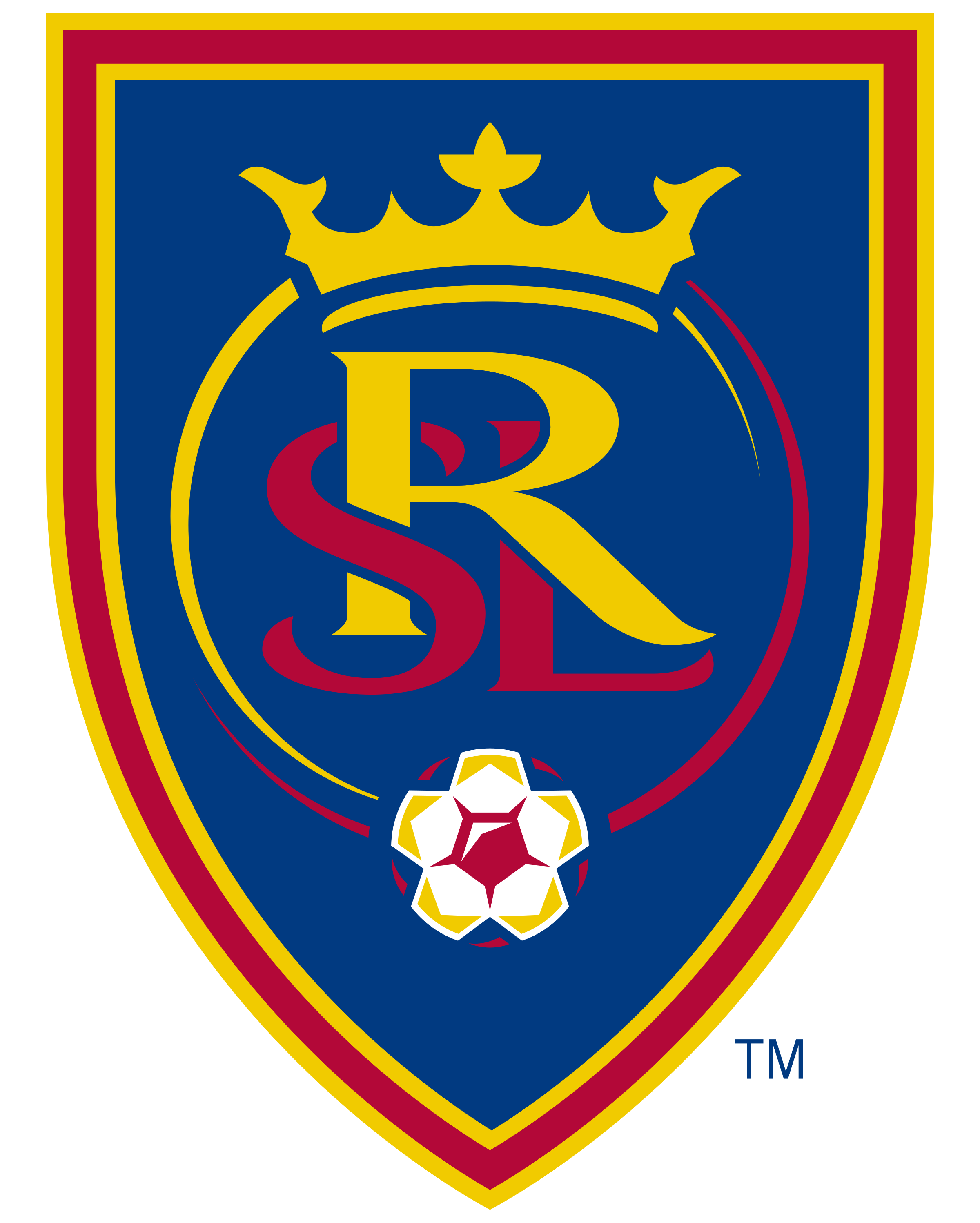 Real Salt Lake logo transparent - Real Salt Lake Logo Vector PNG