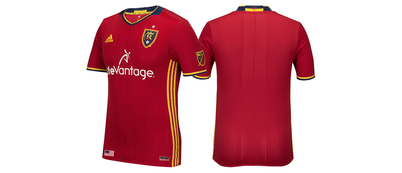 Real Salt Lake primary jersey for the 2016 season - Real Salt Lake PNG