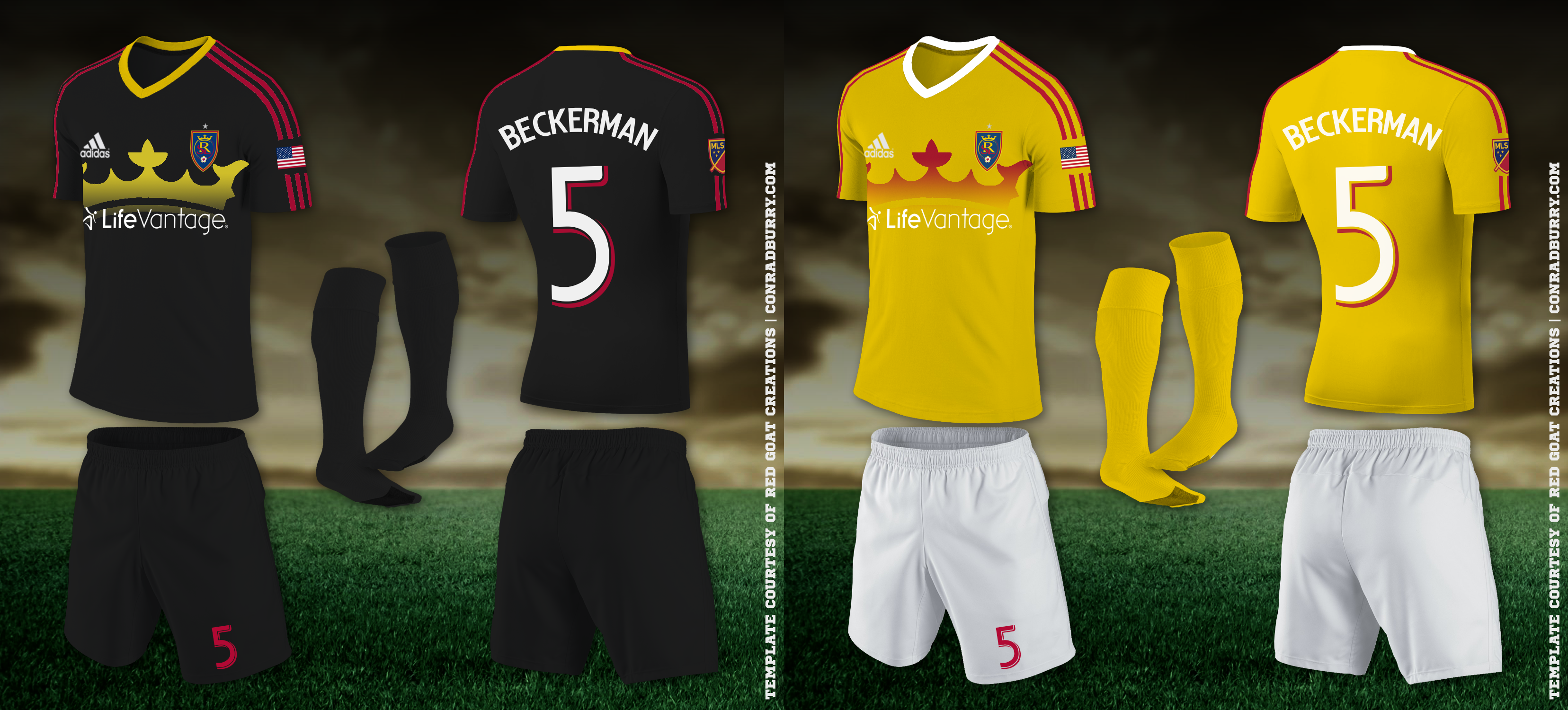 RSL Home-Away Kits RSL Alt-Alt 2 Kits - Real Salt Lake PNG