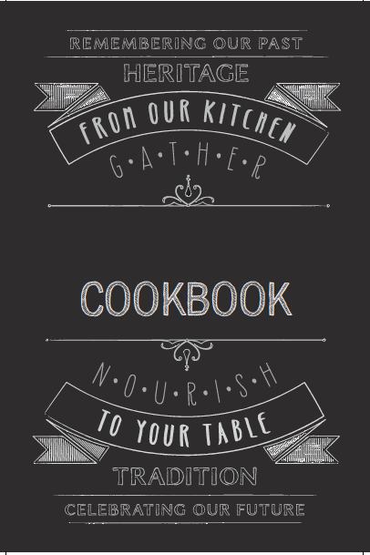 Recipe Book Cover PNG