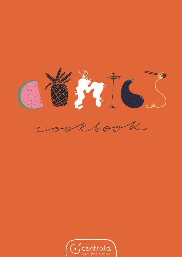 Comics Cookbook - Recipe Book Cover PNG