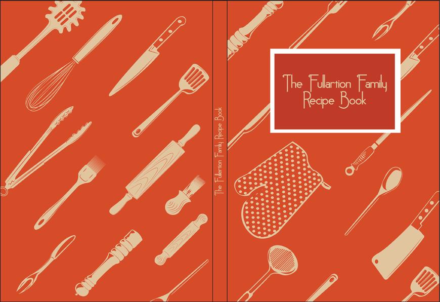 Recipe Book Cover Design By Stevie52 PlusPng.com  - Recipe Book Cover PNG