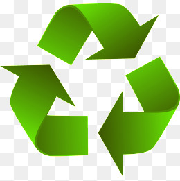 green recyclable sign, Green, Recyclable, Environmental Protection PNG and  Vector - Recycle PNG