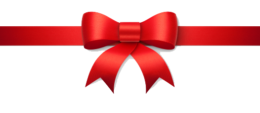 Christmas Bow PNG Image - Red Christmas Bow PNG HD