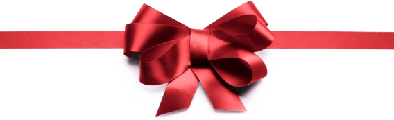 Christmas Bow PNG Transparent - Red Christmas Bow PNG HD