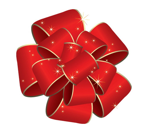 christmas bow transparent background - Google Search - Red Christmas Bow PNG HD