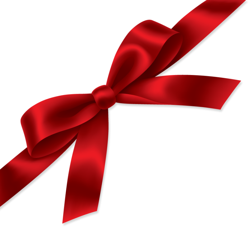 pin red christmas bow clipart #8 - Red Christmas Bow PNG HD