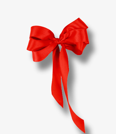 red gift bow, Christmas Creative Image, Red Gift Knot, Christmas PNG and PSD - Red Christmas Bow PNG HD