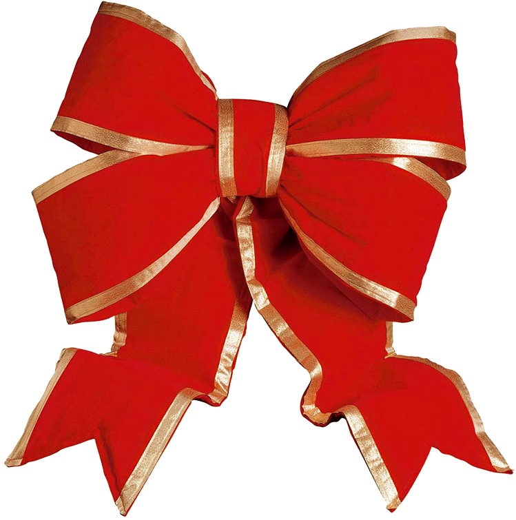 Xmas bow png 1 - Red Christmas Bow PNG HD