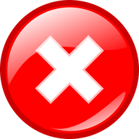 Red Cross Mark PNG - 508